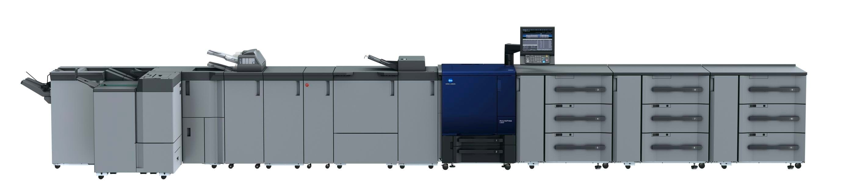 Konica Minolta accurio press c3080p professional printer