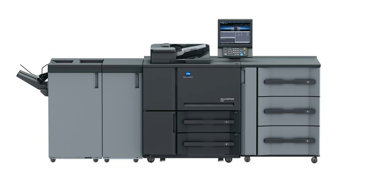 Професионален принтер accurio press 6136 на Konica Minolta